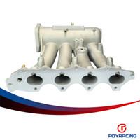 Wholesale PQY RACING EG EK DA DC2 B16A B16B B17A1 B18C5 Aluminum Cast Intake Manifold Upgrade Bolt On PQY IM42CA