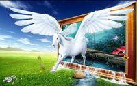 Wholesale papel de parede Pegasus Dream d wallpaper wallpaper factory direct2446