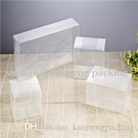 food packaging materials - China made folding plastic clear box packaging transaprent PET material with good quality food box packaging