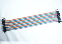 Alarm appliance voltage - F01968 cm WAY Rainbow Color Flat Jumper Cable For home appliance klang instrument etc