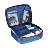 Wholesale 6 Colors Make up organizer bag Women Men Casual travel bag multi functional Cosmetic Bags storage bag in bag Makeup Handbag