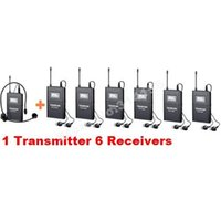 Wholesale Takstar WTG Tour Guide System UHF frequency m operating range use for Tourist guide Teaching ect Transmitter Receivers