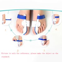 splint - 1 pair Bunion Toe Positioners Bunion Regulator Splint Toe Correction Device Foot Care Tool W214