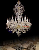 Kitchen kitchen islands - island Large crystal chandelier Arms Luxury crystal light chandelier Fashion chandelier led crystal light Modern Large chandelier light
