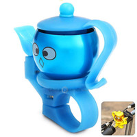 Wholesale 2015 New Safety Teapot Shape Ring Handlebar Bell Loud Sound for Bike Cycling Bicycle Bell Bicycle Handle Bar Bell for Outdoor