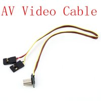 antenna transmission line - 2015 Hot Real time Video Output Cable FPV Image Transmission Line AV Video Cable for Gopro2 Gopro3 pc