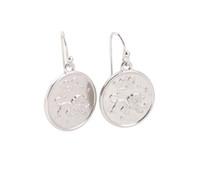 aquarius fashion - New Arrive Pairs Of Fashion zinc alloy dangler Earring Silver Tone Leo Aquarius Drop Earrings