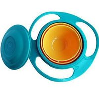 Wholesale New High Quality Tablewear Bowls Spill Proof Bowl for Children Flying Saucer Style