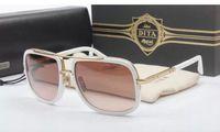 al por mayor de moda las gafas de sol polarizadas de los hombres de conducción-Gafas de sol polarizadas de DITA dita Mach Un tablero Diseñador de la marca Vintage Conducir Hombre Mujer Gafas de sol Gafas De Moda De Moda Con cuadro