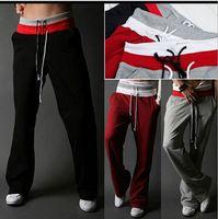 beams plus - hot selling male jogger pants jogging pants beam plus size wei pants men sweatpants gray black winter sports trouser