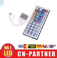 Wholesale x6pcs free ship DC V Keys IR Remote RGB Mini Controller Dimmer for smd led Strips Lights colour module