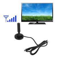Wholesale 2016 Newest Aerial Antenna Digital TV Antanna DB Antenna Booster Signal Amplifier tinyaa