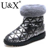 australia skiing - 2016 Drop Shipping U x Australia Women s Snow Shoes Top Quality Fur One Winter Warm Boots European And American Style Outdoor Ski