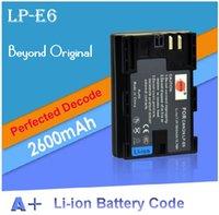 Cheap Portable Battery Pack LP E6 Best Camera Batteries Yes LP-E6