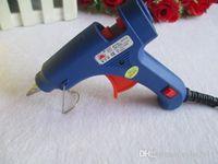 Wholesale Blue W Mini MM Electric Heating Hot Melt Glue Gun Professional Tool