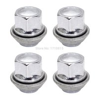 Wholesale 4x M12x1 REPLACEMENT WHEEL NUTS ALLOY MM FOR FORD C MAX CORTINA FOCUS CHROME
