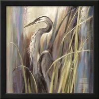 animal repro - Hand painted high quality Brent Heighton Paintings on canvas Repro COASTAL HERON home décor