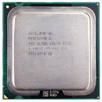 Wholesale Not a Brand New Intel Pentium D GHZ LGA775 SL9QQ Presler CPU Dual Core