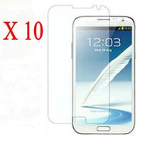 best lcd screen cleaner - LCD Clear Front Screen Protector Guard For Samsung Galaxy Note N7100 with Film Cleaning Cloth best price