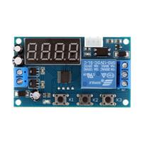 Wholesale degree centigrade12V Digital Thermostat Temperature Sensor Control Switch Module with Probe Relay Switch Control Module E1020