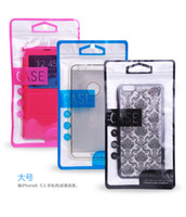 Wholesale packing packaging for mobile cell phone case Plastic Retail Package Bag For Samsung Galaxy S3 S4 S5 s6 Note iphone s splus cover