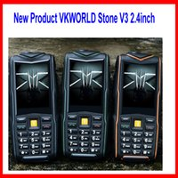 bars flash player - 5200mAh Battery Power Bank VKworld Stone V3 Supoer Strong Flash Light IP67 Waterproof inch Touch Sceen Dual Sim Card Camera MobilePhone