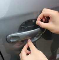 automobile protective film - Universal Invisible Car Door Handle Scratches Automobile Shakes Protective Vinyl Protector Films car Handle Protective film