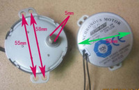 Wholesale TYJ50 A7F oscillating motor Synchronous Motor AC V W Hz step Motor bladeless fan accessories parts CW CCW ROHS