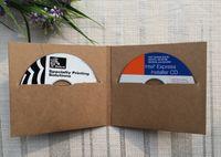 Wholesale Kraft Paper Holding Discs CD Cases CD Sleeves DVD Cases CD Packaging Envelope