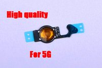 Wholesale Replacement Home Button Flex Cable Parts for iPhone G S G Repair Parts