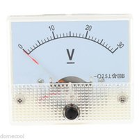 Wholesale DC V Pointer type Analog Voltmeter Convenient to Carry Voltage Meter