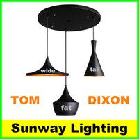 Wholesale Tom Dixon Beat Lighting Tom Dixon Pendant Light Pendant Lamp Instrument Lamp Droplight Contemporary Study Sitting Room Dining room Droplight