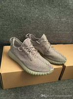 Cheap Yeezy Boost 2016 Fashion Women & Men Yeezy 350 Boost Black Moon Rock Oxford Tan Running Sports Yeezy Shoes YZY Boosts Dropshipping Accepted