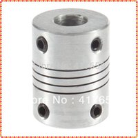 Wholesale 1pcs mm To mm Flexible Coupling x8mm CNC Motor Jaw Shaft Coupler OD x25mm Dropshipping