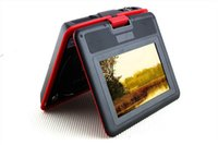 Wholesale 7 inch LCD Screen Digital Multimedia Portable DVD with FM TXT Reader Red