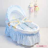 Wholesale Newborn Baby Bassinet Colors Hot Sale European Baby Product Of Baby Cradle Infant Toddler Baby Crib For Months