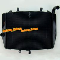 Wholesale Motorcycle Aluminum Radiator For Honda CBR RR F5 Spare Parts and Accessories Black Color order lt no track