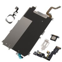 Wholesale LCD Backplate Home key Flex Cable Camera Set Accessories for iPhone quot plus quot