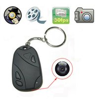 Wholesale New Mini Car Key Chain Hidden Web Cam Spy Camera DVR Video Recorder Camcorder