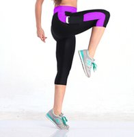 Wholesale Fashion Slim Pencil Pants Sexy Gym Women Fitness sport leggings Outdoor Professional Colorful Running Sports Pants
