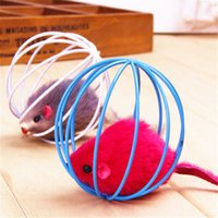 ball cage bearing - 1pcs pet cat toy ball shape cage with little mouse toy for cat diameter cm cat supply cat cage family fur mice toy