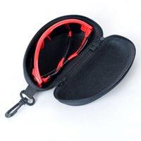 Wholesale New Zipper Eye Glasses Brand Sunglasses Hard Case Portable Holder Protector Sunglasses Box LT01102