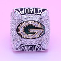 Cheap High Quality Green Bay 2010 Packers Copper Planted Super Bowl National Football Championship Rings Replica For Collection Size 10 11 12