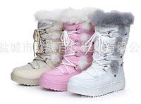 Wholesale HOT winter new Children s Snow Boots waterproof wool Warm Snow Boots