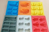 Wholesale Trader Cool Super Star Wars Ice Tray Silicone Mold Ice Cube Tray Chocolate Fondant Tool