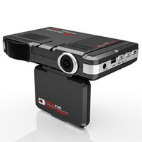 Wholesale 2 in Car DVR Camera Vehicle Camera Video Recorder Dash Cam Registrator Camcorder Radar Laser Speed detector Night Vision