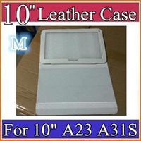 Wholesale New inch Original Protective Leather case for quot Allwinner A23 A31S A33 ATM7029 ATM7021 Tablet PC PT10