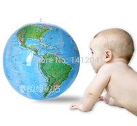 beach cost - FD629 Cost effective quot Globe Inflate Inflatable Earth World Teacher Beach Ball Geography Toy
