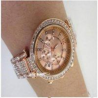 auto shanghai - new Luxury rose gold Womens Diamonds Watches Brand Date eyes Women Bracelet Ladies Designer Wristwatches MICHAELer mkk