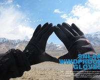 Wholesale Windproof Outdoor Sports Gloves Tactical Mittens for Men Women in Winter Feel Warm Bicycle Cycling Motorcycle Hiking Skiing